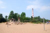 Осиновецикий маяк и пляж.