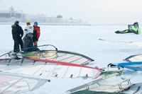 Чемпионат Архангельской области по зимнему виндсерфингу и кайтингу 2013