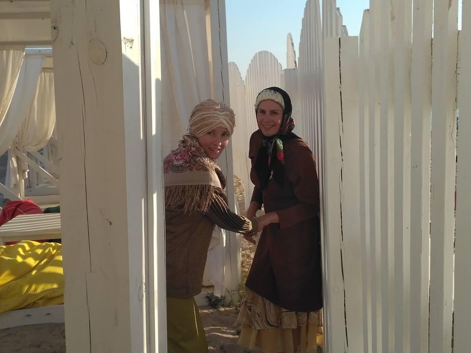 Бабки пробуют виндсерфинг! Смотрите видео!
