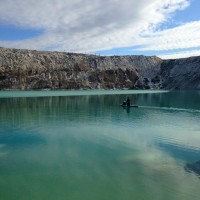 Мы плывем на льдину...