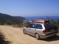 Сквозь пыльные Корсиканские дороги