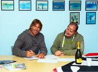 Албо подписал контракт на 3 года!