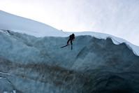 ЛяГрав, маршрут через ледник