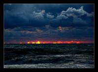 Анапский морской пейзаж
