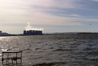 Открытие сезона на Атомном пруду в Нововоронеже 20 марта 2010