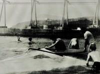 Прокат на пляже в Алуште 1991