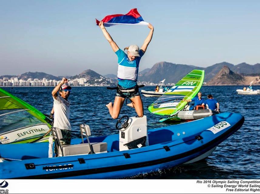 Первая в истории России олимпийская медаль в виндсёрфинге!