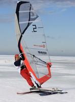 Чемпионат Европы по зимнему виндсерфингу